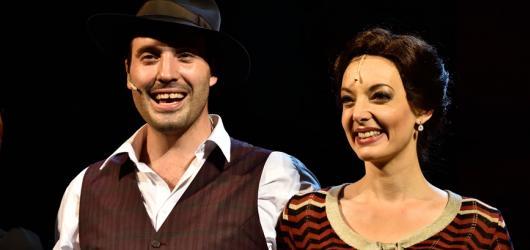 Muzikáloví Bonnie a Clyde loupí za lepší život v Hudebním divadle Karlín. Velkolepěji než na Broadwayi
