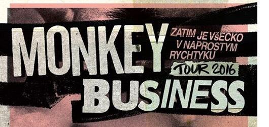 Kapela Monkey Business zahájila jarní tour společně s Maxipsem Fíkem v Kadani