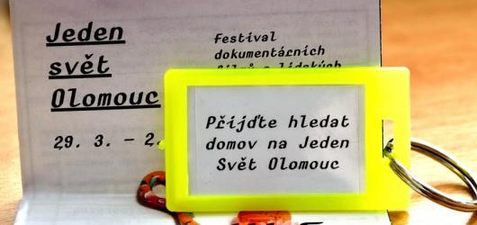 Jeden svět se přesouvá z Prahy do regionů. Zastaví se také v Olomouci
