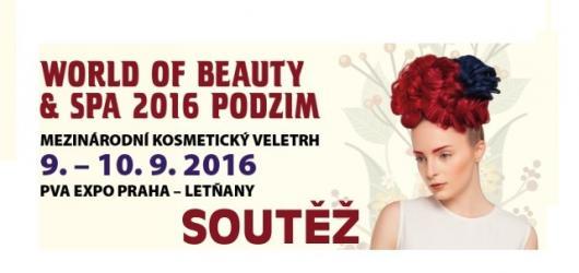 Soutěž o volné vstupenky na veletrh World of Beauty and Spa Podzim 2016