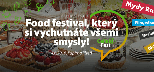 Soutěžte o vstupenky na CeliakiFest