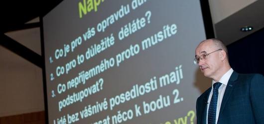Z nuly až na vrchol. Konference Ivo Tomana láká na Jakuba Vágnera i Romana Šmuclera