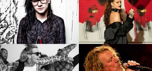 10 prázdninových koncertů. Do Česka se chystá Rihanna, Robert Plant i Skrillex