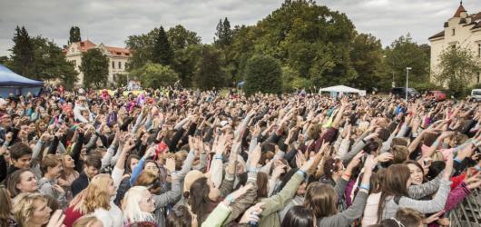 Festival Mezi Ploty baví děti i jejich rodiče