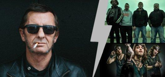 Bubeník Phil Rudd zahraje průřez AC/DC i svou tvorbou. Supportovat mu budou čeští Stroy a Hanta