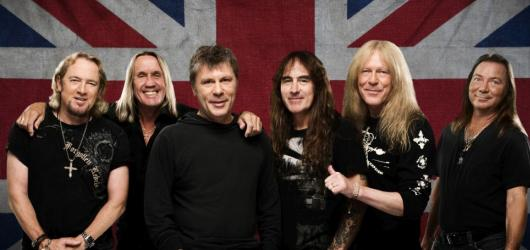 Iron Maiden se znovu vydávají na turné. Zastaví se i v České republice
