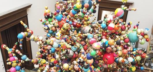Krištof Kintera odkrývá veřejnosti svůj svět na výstavě Nervous Trees