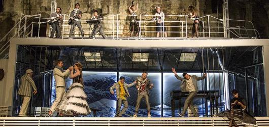 Sváteční komedie Večer tříkrálový otevře druhou Letní scénu shakespearovských slavností v Praze