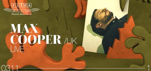 Hvězdný producent elektronické hudby Max Cooper vystoupí v listopadu v Brně