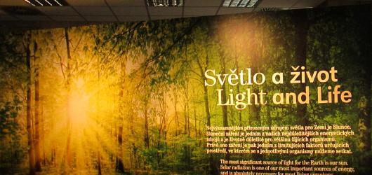 Světlo a život v Národním muzeu v Praze