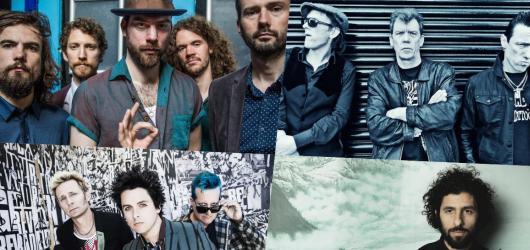 Sedmička lednových koncertů: Po letech se vrací Green Day, českou tour chystají punkáči z The Vibrators