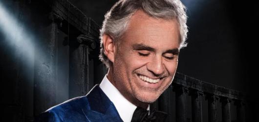 Andrea Bocelli chystá velký pražský koncert. Představí na něm melodie z nové desky