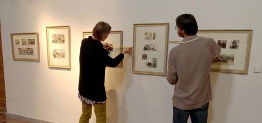 Jihlavská galerie vystavuje díla Gustava Kruma, autora ilustrací knih Jaroslava Foglara či Karla Maye