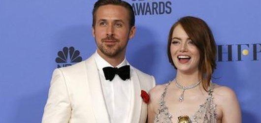 Zlaté glóby 2017: La La Land dotančil pro rekord, filmové drama ovládl Moonlight a Hra o trůny se musela sklonit před královnou