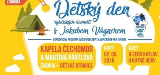 Jakub Vágner zve na Dětský den rybářských slavností
