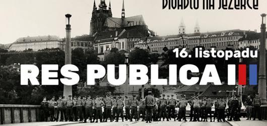 100 let republiky: Divadlo Na Jezerce uvádí Res publica neboli věc veřejná