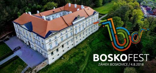 Party na zámku? Nový hudební festival Boskofest láká na Tata Bojs i Michala Hrůzu