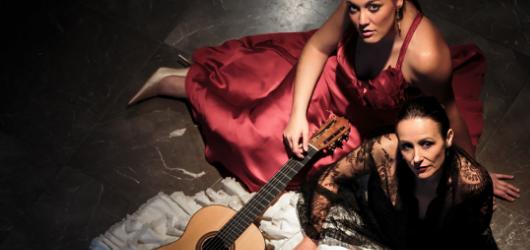 Dvojice Irene Álvarez a María Marín ukáží tuzemskému publiku nevšední propojení hudby a flamenka