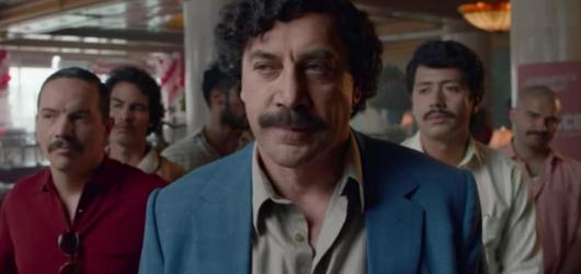Escobar zdůrazňuje lásku na špatných místech, milování Pabla dalece převyšují drogy