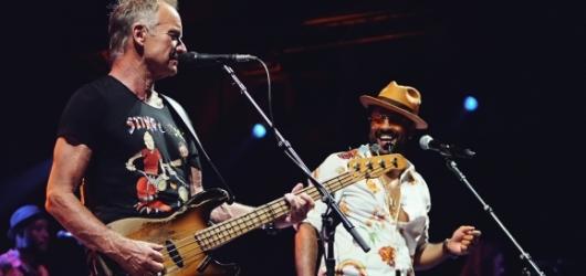 Sting se Shaggym přivezli do Prahy hity a reggae