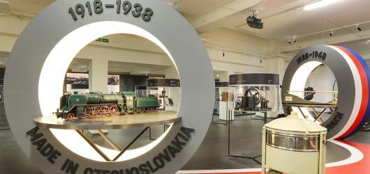 Vyrobeno v ČSR i v Česku. Výstavy v Národním technickém muzeu se soustředí na vývoj tuzemského průmyslu a techniky