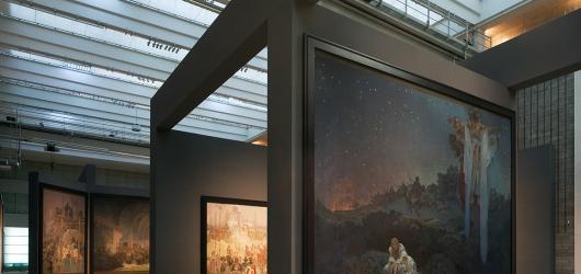 Část Slovanské epopeje se přesunula do Obecního domu. Velká plátna zůstávají na brněnském výstavišti