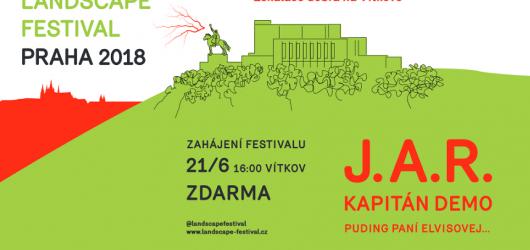 Pražský Landcape festival zahájí skupina J.A.R. Eskalací dobra na Vítkově