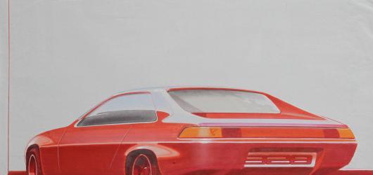 Načrtni svůj sen. V Brně začíná výstava designéra Jiřího Kuhnerta, autora modelu Porsche 928
