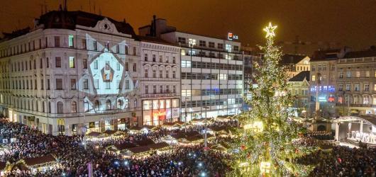 8 tipů, kam vyrazit za vánoční atmosférou v Brně