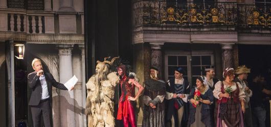 Muzikál Mefisto oslavil v Divadle Hybernia 100. představení