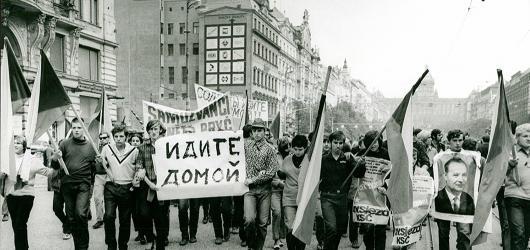 Euforii vystřídal šok. Sedm převratných dnů srpna 1968 přibližuje pražská výstava