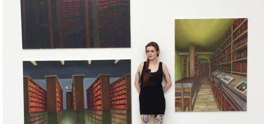 #NováGenerace: Současné umění mě neinspiruje, dívám se do minulosti, říká malířka nostalgické atmosféry Barbora Dohnalová