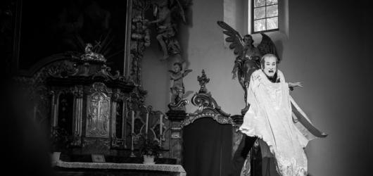 Křížová cesta Milana Sládka se stala jedním z nejvýraznějších představení letošního MIME FESTu