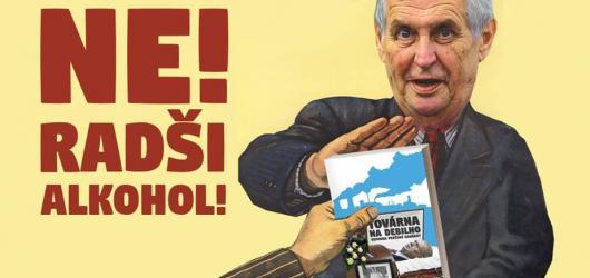 Prezident zemřel, ať žije politická satira. Dominik Landsman a TMBK vydávají Továrnu na debilno 2