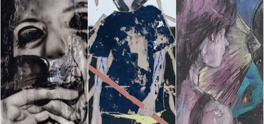 Kůži v podání trojice současných umělců představuje pražská DSC Gallery
