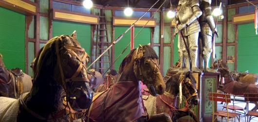 Oprava koní z unikátního Letenského kolotoče je u konce. K vidění jsou v Národním technickém muzeu