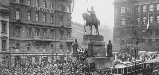 Obecní dům zpřístupní prostory, kde muži 28. října podepsali zákon o vzniku Československa