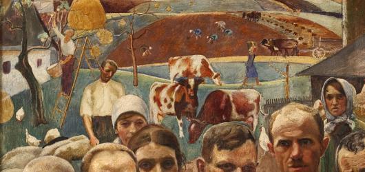 Mýty o slezské výtvarné scéně v prvorepublikové éře vyvrací nová výstava v ostravské galerii