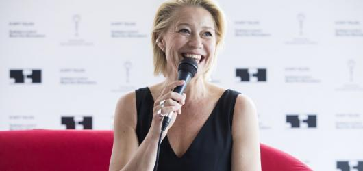 KVIFF 2018: Režisérka mi řekla, že nevypadám ani nezpívám jako Nico, ale přesto jsem ten správný člověk, zavzpomínala Trine Dyrholm