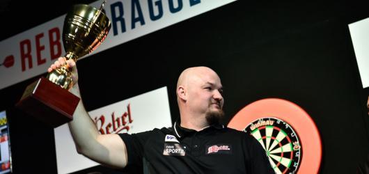 V Rebel Prague Darts Masters exceloval Sedláček s van Barnevaldem