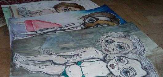 Výstava Divnolidi mladé umělkyně Elišky Hromádkové poukazuje na osobitost jednotlivce