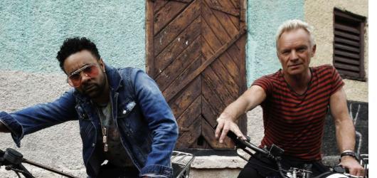 Společné album představí ve Foru Karlín Sting & Shaggy