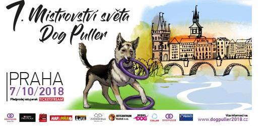 Světový šampionát Dog Puller 2018 v Praze. Zažijte vůbec první mistrovství v novém psím sportu