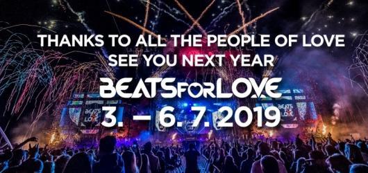 Začíná předprodej na Beats For Love 2019. První limitované vstupenky si koupíte už 1. září!