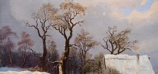 Zimní výstavy na západě Čech: fotografie Viléma Heckela i zasněžené obrazy