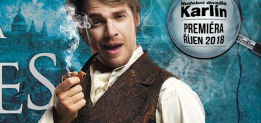 Kdo si zahraje muzikálového Sherlocka Holmese? Hudební divadlo Karlín představilo obsazení chystané inscenace