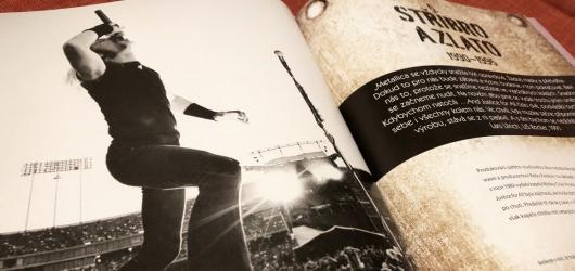 Autentické výpovědi i stovky fotografií. Kompletní ilustrovaná historie kapely Metallica cílí na fanoušky i nepříliš znalé posluchače