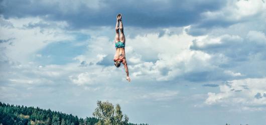 Cliffdiving podvacáté. Highjump v srpnu přivítá světové skokany i české interprety