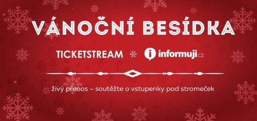 Vánoční besídka již v pondělí! Sledujte živý přenos a soutěžte už teď o hodnotné ceny