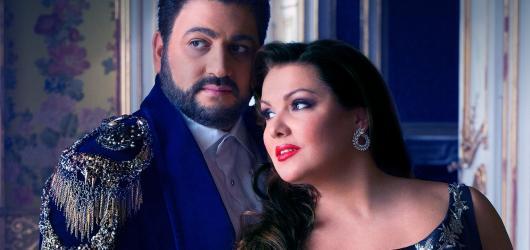 Pár sezdaný operou. Do Prahy se vrátí sopranistka Anna Netrebko s manželem Yusifem Eyvazovem